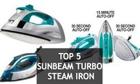 Top 5 Sunbeam Turbo Steam Iron for Clothes in 2018