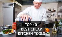 Make Easy Your Cooking Work by Using 10 Best Cheap Kitchen Tools and Utensils