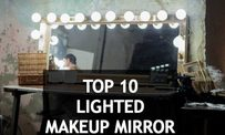 Top 10 Best rated lighted makeup mirror 2018 Reviews