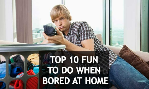 Try 14 fun activities to do at home when bored