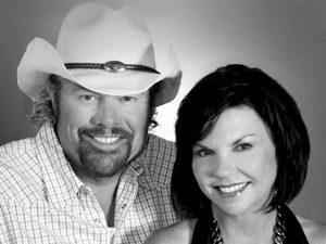 Toby Keith & Tricia Covel