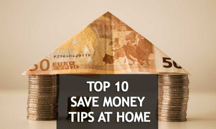 Find out 10 creative ways to save money at home [Infographic]