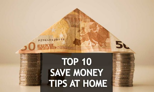 5 creative ways to save money easily at home