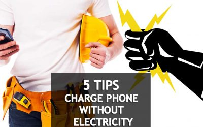 You've Got The Power: Charging Your Phone Without Electricity