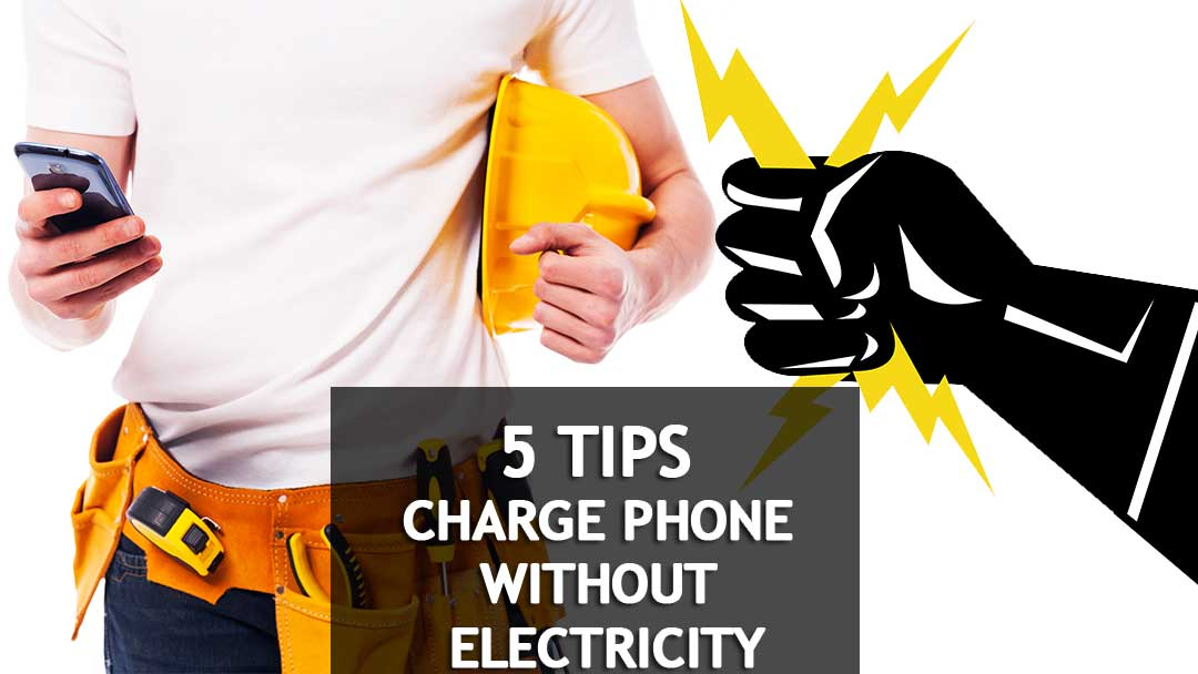 charge phone without electricity