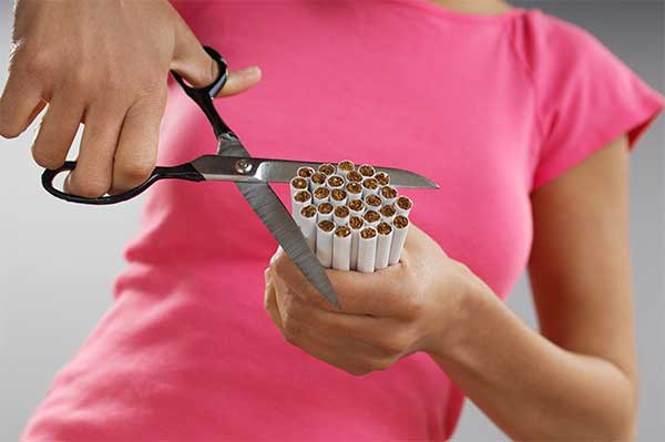 cut cigarettes
