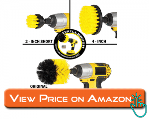 Drillbrush scrubber