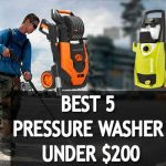 🥇🚿The 5 Best Professional Pressure Washer Under $200 Reviews for 2021