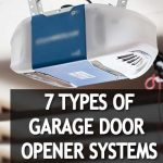 7 Types of Garage Door Opener Systems