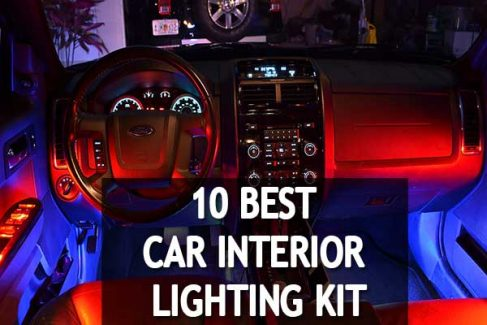 Make Your Car Wonder : 10 Best Car Interior Lighting Kit 2019 Reviews