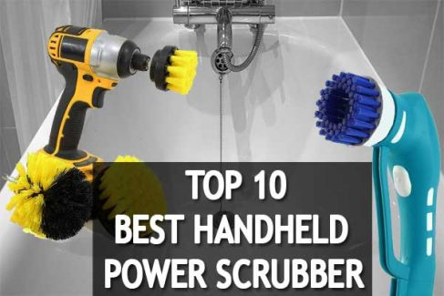 Clean Your House Using The Best Handheld Power Scrubber