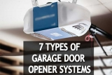 🥇⚙️Seven Different Types of Garage Door Opener Systems