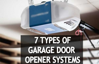 Seven Different Types of Garage Door Opener Systems