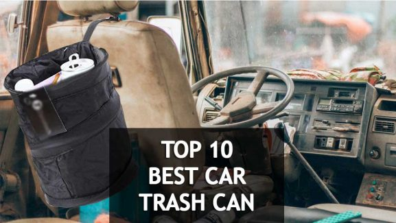10 Best Car Trash Cans 2019 You'll Love (Buyer's Guide & Reviews)
