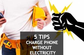 🔋You've Got The Power: Look 5 Ways To Charge Your Phone Without Electricity