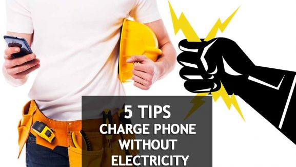 You've Got The Power: Look 5 Ways To Charge Your Phone Without Electricity