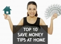 Find out 10 creative ways to save money at home